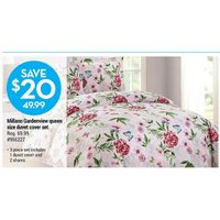 Millano Gardenview Queen Size Duvet Cover Set