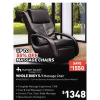 Human Touch Whole Body 5.1 Massage Chair