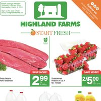 Highland Farms - Weekly Specials Flyer