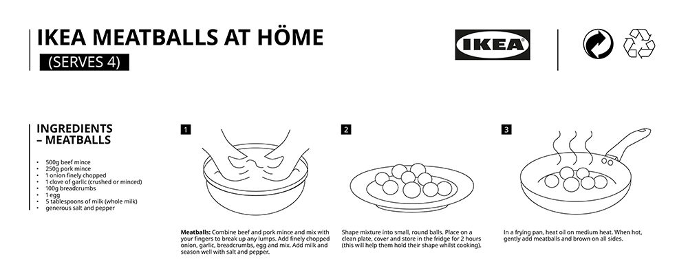 You Can Now Make IKEA's Famous Meatballs at Home