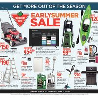 Canadian Tire - Get More Out of The Season - Early Summer Sale Flyer