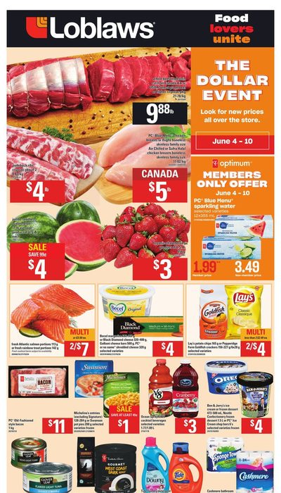 Loblaws - Weekly - The Dollar Event Flyer