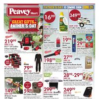 PeaveyMart - Great Gifts For Father's Day Flyer