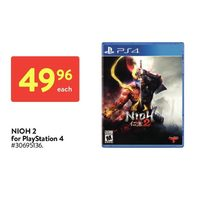 Nioh 2 For Playstation 4
