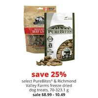 PureBites & Richmond Valley Farms Freeze Dried Dog Treats