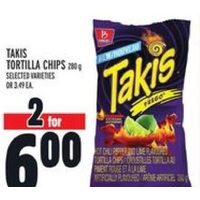 Takis Tortilla Chips