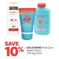 Gold Bond Foot Care