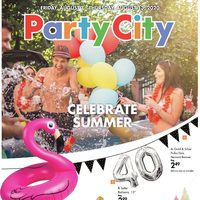 Party City - Celebrate Summer Flyer