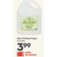 Allen's Pickling Vinegar
