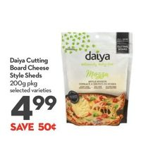 Daiya Cutting Board Cheese Style Sheds