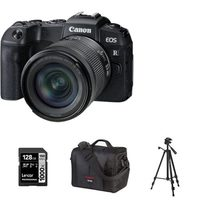 Canon EOS RP Mirrorless Camera With 24-105mm RF STM Lens Kit, Canon 700SR DSLR System Bag, Tripod And 128GB Memory Card
