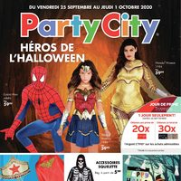 Party City - Héros de l'Halloween Flyer