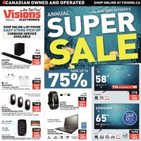 - Annual Super Sale Flyer