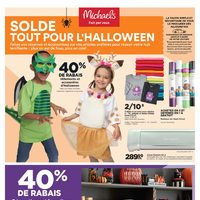 Michaels - Weekly - Haul-oween Sale Flyer