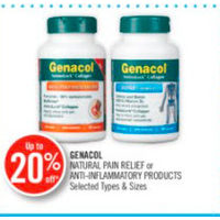 Genacol Natural Pain Relief Or Anti-Inflammatory Products