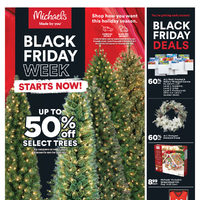 Michaels - Black Friday Week Starts Now! Flyer