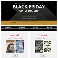 Chapters Indigo - Black Friday Flyer