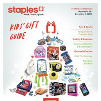 - Kid's Gift Guide Flyer