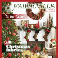 Fabricville - 'Tis The Season Flyer