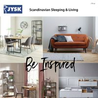 JYSK - Furniture Catalogue - Be Inspired Flyer