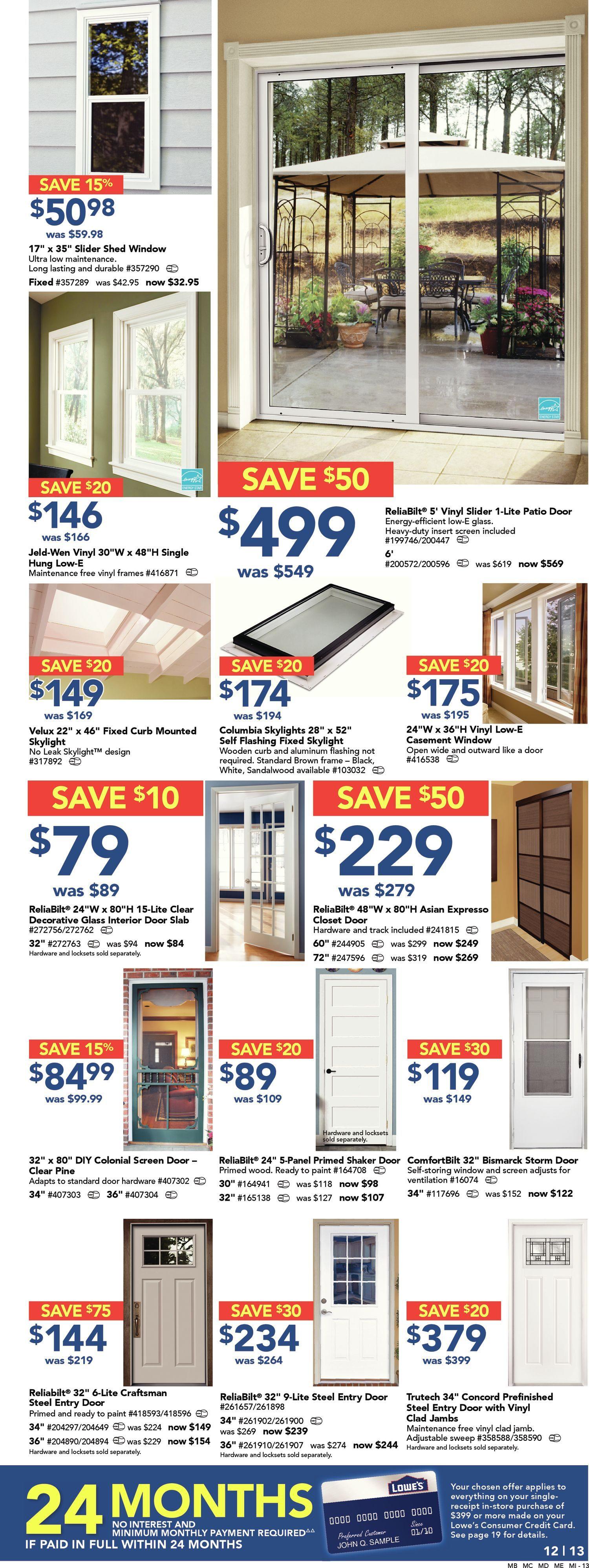Lowe\'s Weekly Flyer - Weekly Flyer - May Long Weekend Savings - May ...