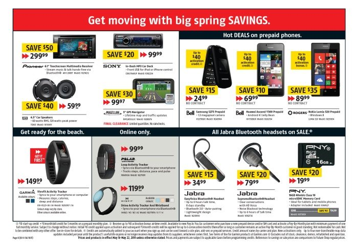 Future Shop Weekly Flyer - Weekly Flyer - Long Weekend Sale! - May