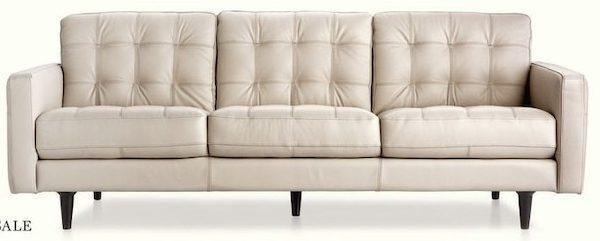Sears Cau D Ax Marano Leather Sofa 4 Days Only Redflagdeals Com