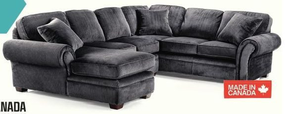 Whole Home Belleville Sectional Sofa Rs Gold : belleville sectional sofa - Sectionals, Sofas & Couches