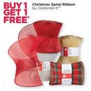 Michaels: Christmas Spiral Ribbon by Celebrate It