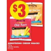 Armstrong Cheese Snacks - $3.00