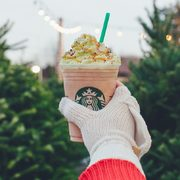 Starbucks: Christmas Tree Frappuccinos are Available Now!