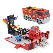 Fast Lane - Fire City Playset - $30.00