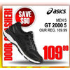 Asics Men's GT 2000 5 - $109.99 ($60.00 off)