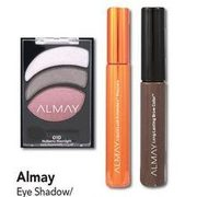 Lawtons Drugs: Almay Eye Shadow/ Eye/Brow Liner/Mascara/ Makeup