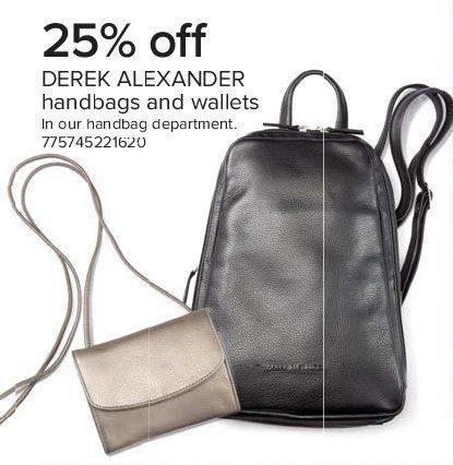 The Bay Derek Alexander Handbags And Wallets 25 Off