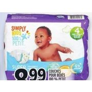 100% Imply Kids Baby Diapers - $8.99