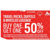 Burton, Ogio, Marmot Daking Travel Packs, Duffles & Wheeled Luggage  - BOGO 50% off
