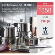 J.A. Henckels International Biarritz Cookware Set - $179.99 ($350.00 off)