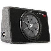 "Kicker Sealed Slim Enclosure W/12"" Subwoofer - $269.00 ($230.00 off)"