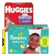 Pampers or Huggies Super Econo Diapers - $28.88