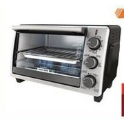 Black & Decker Stainless Steel Toaster Oven - $49.99