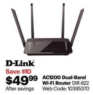 Best Buy: D-Link Amplifi Wireless AC1200 Dual Band Router