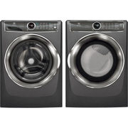 Electrolux 5.1 Cu. Ft. Front Load Steam Washer & 8.0 Cu. Ft. Electric Steam Dryer - Titanium - $1999.98