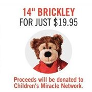 "14"" Brickley  - $19.95"