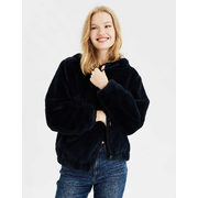 Ae Faux Fur Bomber Jacket - $35.98 ($53.97 Off)
