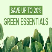 Well.ca: Up to 20% off Green Essentials
