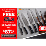 Knife Sharpener Zwilling Pro - From $87.49 (30% off)