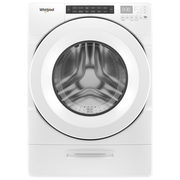 Whirlpool 5.2 Cu. Ft. High Efficiency Front Load Steam Washer, 7.4 Cu. Ft. Front Load Electric Dryer - $1249.98/pr ($550.00 off)