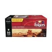 Folgers 50-Ct Coffee K-Cup Pods - $20.99 ($5.00 off)