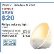 Philips Wake-Up Light - $79.99 ($20.00 off)